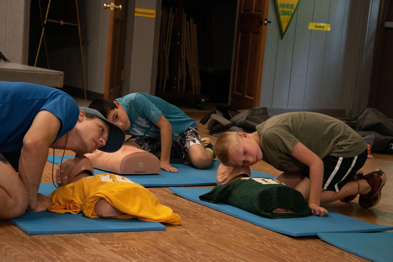 skills at camp